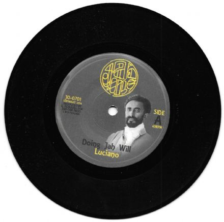 SALE ITEM -Luciano - Doing Jah Will / Yami Bolo & Jah One Allstars - Frontline Melodica (Jah One) 7""
